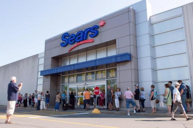 Sears Canada a épongé une pertede 144 millionsau... (PhotoRyan Remiorz, archives La Presse canadienne)