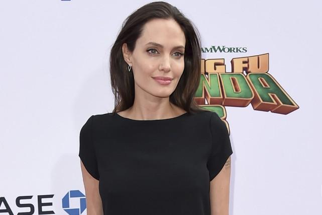 Angelina Jolie... (PHOTO ARCHIVES AP)