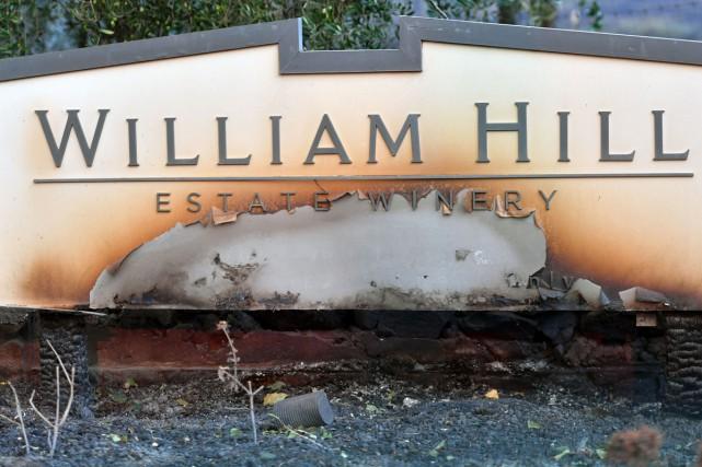 Le vignoble William Hill Estate Winery à Napa... (Photo AFP)