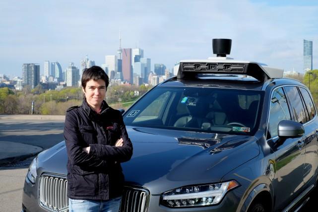 La responsable du nouveau laboratoire de véhicules autonomes... (PHOTO ARCHIVES LA PRESSE CANADIENNE)