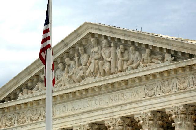 La Cour suprême des États-Unis, à Washington.... (PHOTO ARCHIVES REUTERS)