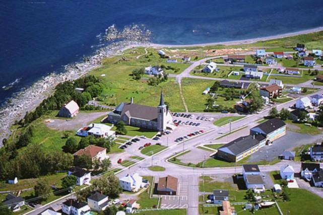Saint-Félicité... (Image tirée du site de Tourisme Gaspésie)