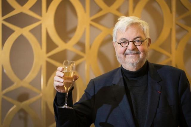 Michel Tremblay a fêté hier au Ritz-Carlton son... (photoIVANOH DEMERS, LA PRESSE)