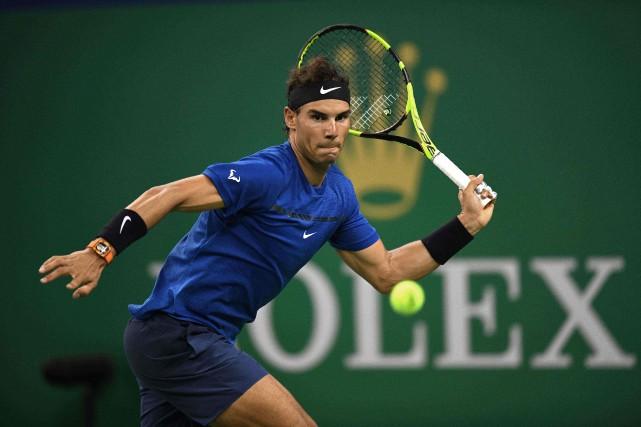 Rafael Nadal a facilement vaincu Jared Donaldson6-2, 6-1,... (Photo Nicolas Asfouri, AFP)
