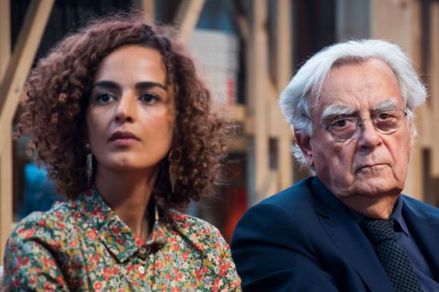 Leila Slimani, lauréate du Goncourt l'an dernier pour... (PHOTO AFP)