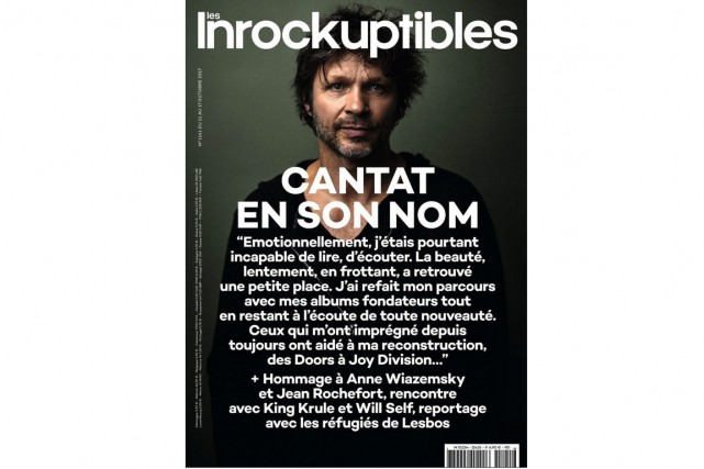 L'hebdomadaire Les Inrocks a consacré sa Une d'aujourd'hui à Bertrand... (Photo tirée du site web des Inrocks)