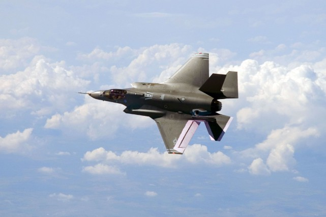 Un Joint Strike Fighter F-35.... (ARCHIVES AFP)