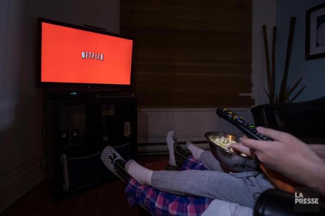 Netflixa dépassé cet été pour la première fois... (PHOTOIVANOH DEMERS, ARCHIVES LA PRESSE)