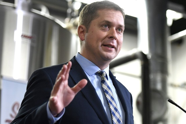 Andrew Scheer... (Photo Justin Tang, archives La Presse Canadienne)