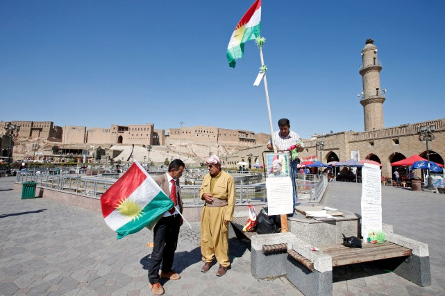 Les relations entre Bagdad et Erbil (photo) se... (REUTERS)