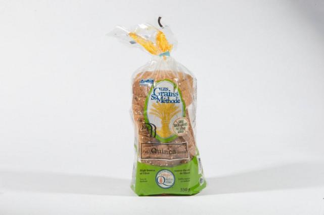 Pain quinoa Les Grains St-Méthode... (Photo David Boily, La Presse)