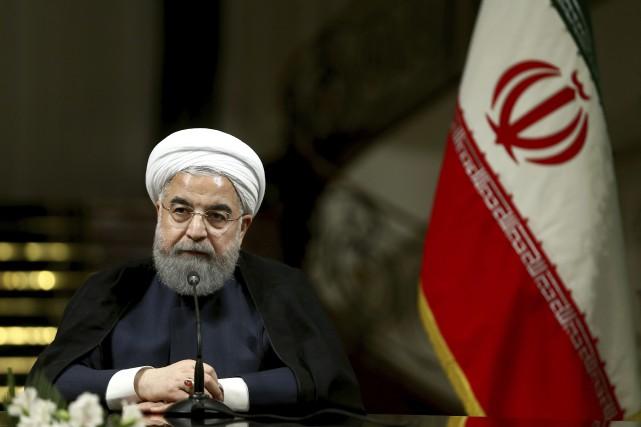 «Si les États-Unis prennent une position hostile à... (PHOTO AP)