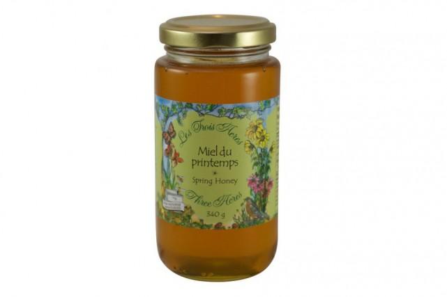 Le miel de printemps de la Ferme Les... (Photo tirée du site web de l'entreprise)