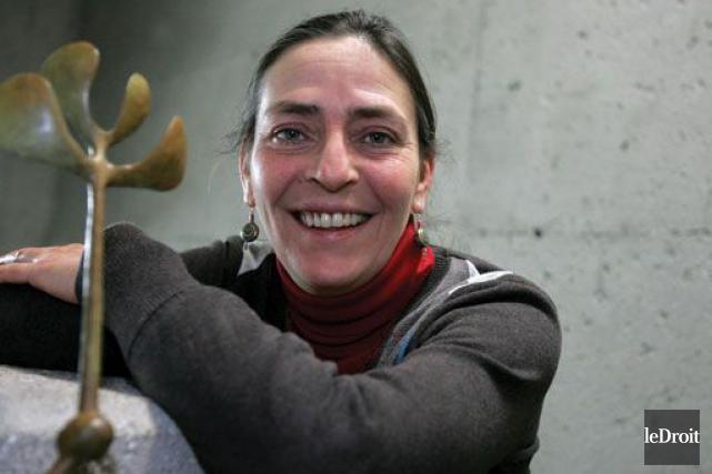 Originaire de Hearst, Paulette Gagnon, directrice du développement... (Photo Sylvain Marier, archives Le Droit)