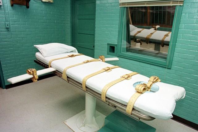 L'État américain du Texas a exécuté jeudi un homme condamné pour le meurtre... (ARCHIVES AFP)