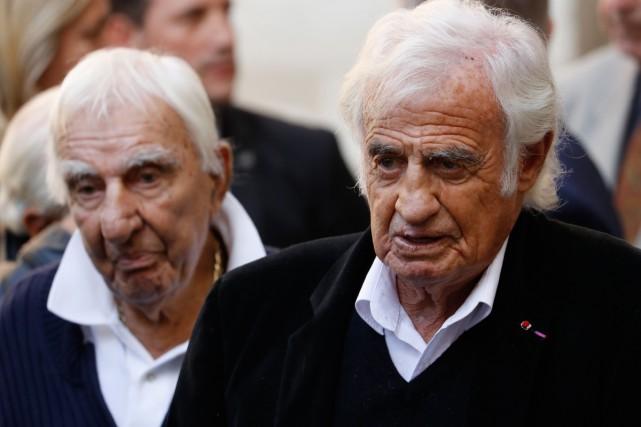 Les acteurs Charles Gérard et Jean-Paul Belmondo étaient...
