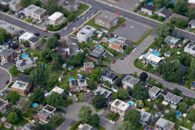 La Fédération des chambres immobilières du Québecobserve que... (Photo David Boily, Archives La Presse)