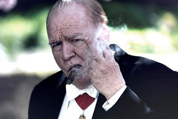 Brian Cox dans Churchill... (Photo fournie par le Théâtre Outremont)