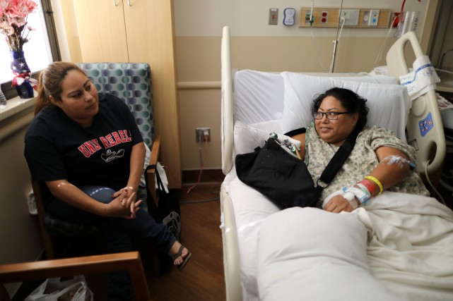 Paola Bautista a été blessée durant le concert... (REUTERS)