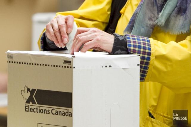 Ce samedi, les bureaux de scrutin sont ouverts... (Photo archives La Presse)