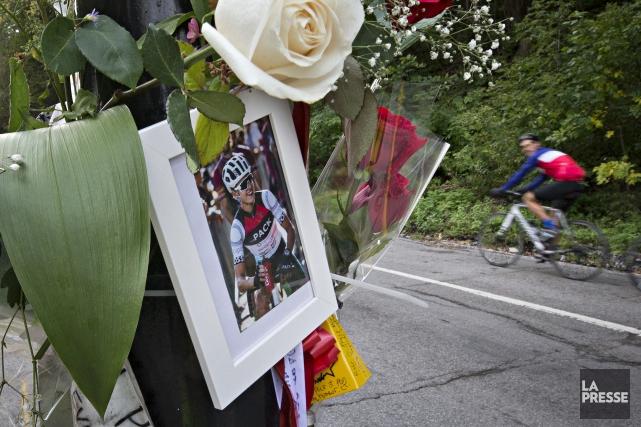 Clément Ouimet aété happé mortellement le 4 octobre... (photo PATRICK SANFAçON, archives LA PRESSE)