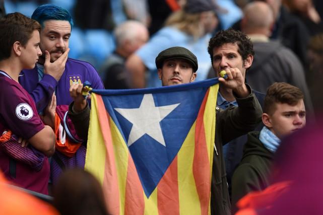 Beaucoup de militants catalans se réclament des «comités... (Photo AFP)