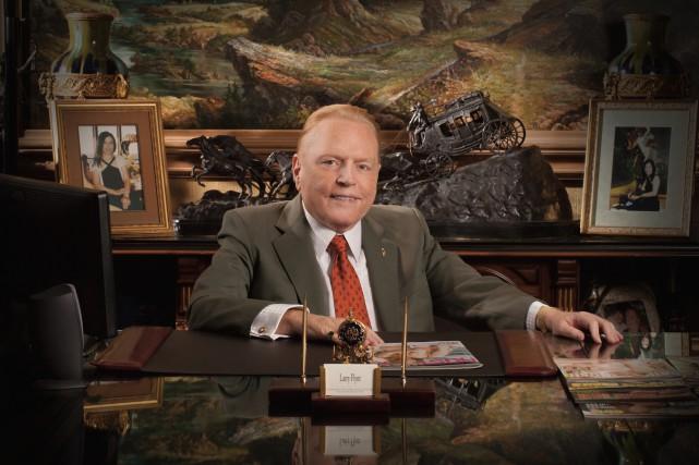 Larry Flynt, fondateur de Hustler... (Photo d'archives)