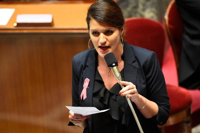 La secrétaire d'État à l'Egalité entre les femmes... (Photo AFP)