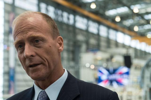 En Autriche, Tom Enders figure parmi les personnes... (Photo archives AFP)