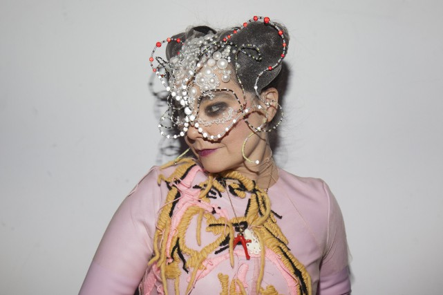 La chanteuse Björk, 51 ans, n'a pas révélé... (Photo Santiago Felipe, fournie par le Red Bull Music Academy)