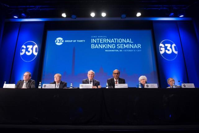 Le vice-président de la Banque centrale européenne, Vitor... (Photo SAUL LOEB, AFP)