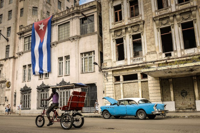 Presque 944 000 Canadiens ont voyagé à Cuba... (PHOTO ADALBERTO ROQUE, ARCHIVES AFP)