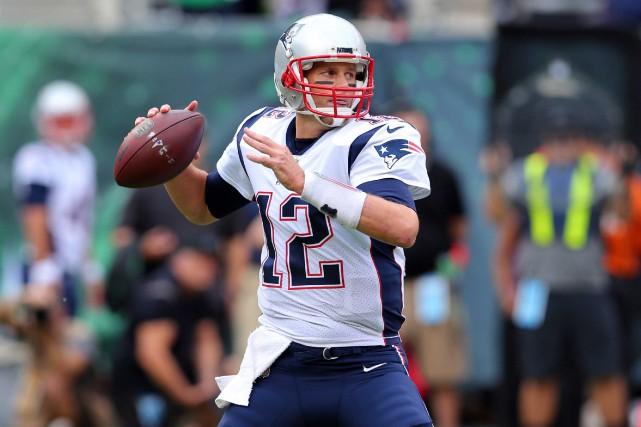 Grâce à sa 187e victoire, Tom Brady a... (PHOTO REUTERS)