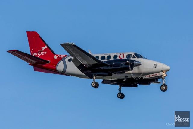 L'avion impliqué est un appareil de type King... (ARCHIVES LA PRESSE)