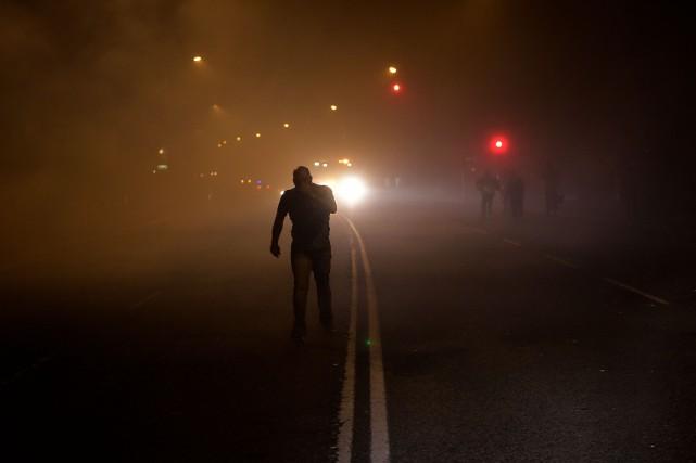 Cinq incendies ont été observés près de la... (PHOTO AFP)