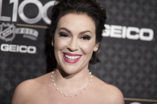 L'initiative d'Alyssa Milano (photo) a rencontré un fort... (Photo Richard Shotwell, archives Associated Press)