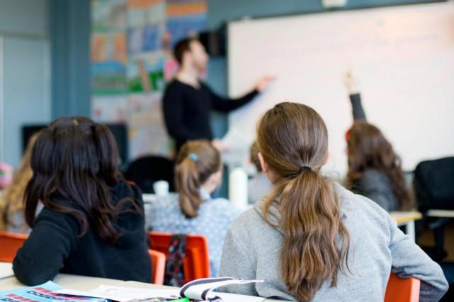 Les étudiants en enseignement demandent àêtre rémunérés pour... (Photo Sarah Mongeau-Birkett, Archives La Presse)