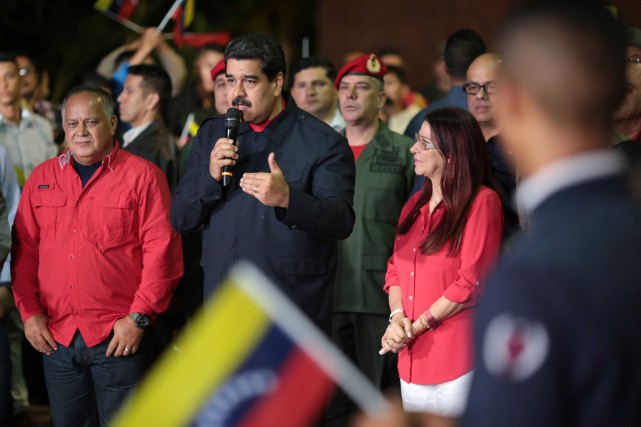 Selon le Conseil national électoral du Venezuela, le... (Photo REUTERS)