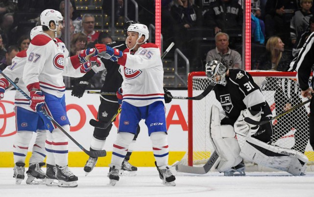 Le Canadien a battu les Kings à Los... (Photo Mark J. Terrill, archives Associated Press)