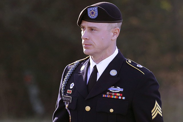 Bowe Bergdahl avait été capturé par les talibans... (Photo archives AP)