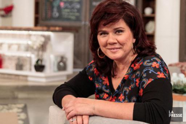 Lorsqu'elle anime son émission matinale, Marina Orsini ne... (Photo Hugo-Sébastien Aubert, La Presse)