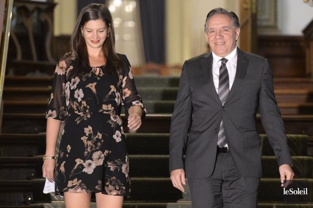 La nouvelle députée de Louis-Hébert, assermentée lundi après-midi... (Photo Le Soleil)