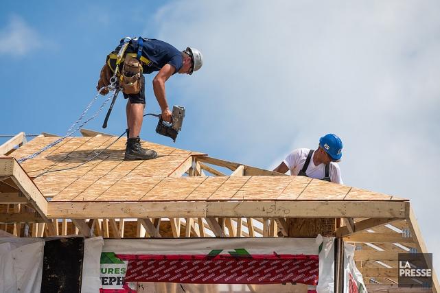 Les négociations dansle secteur de la construction résidentielle... (PHOTO SIMON GIROUX, ARCHIVES LA PRESSE)
