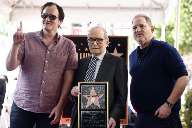 Harvey Weinstein (à droite) a collaboré sur tous... (ARCHIVES AP)