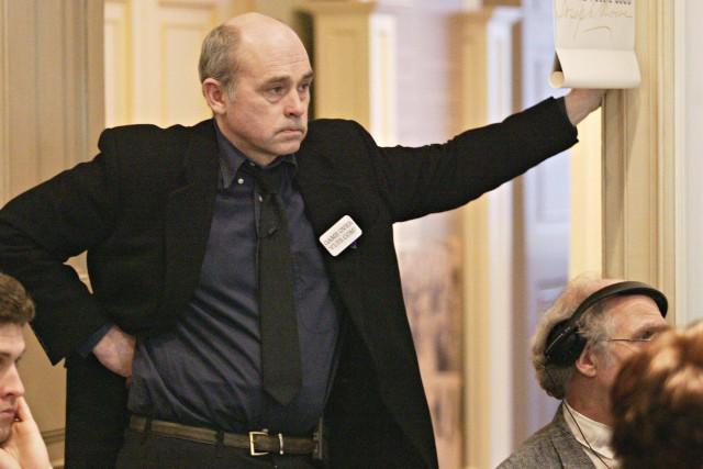 John Dunsworth assistant à une conférence de presse... (ARCHIVES PC)