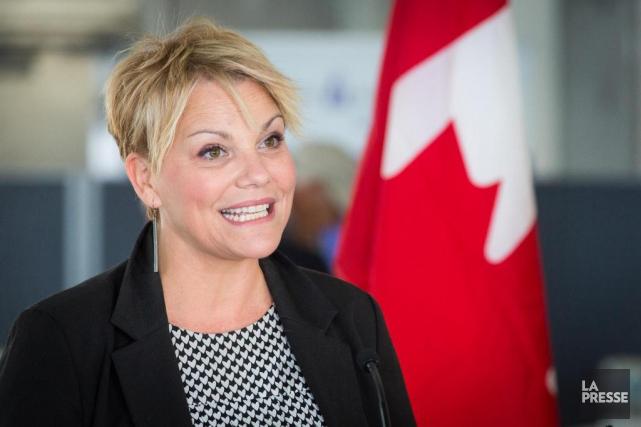 Isabelle Melançon,ministre de l'Environnement du Québec... (PHOTO SIMON GIROUX, ARCHIVES LA PRESSE)