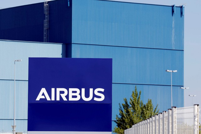 FILE PHOTO: The logo of Airbus Group is... (REUTERS)