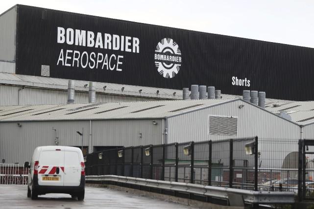Bombardier est l'un des principaux employeurs en Irlande... (AP)