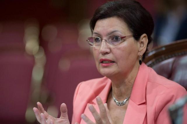 L'ancienne députée libérale Fatima Houda-Pepin... (Photo Jacques Boissinot, Archives La Presse Canadienne)