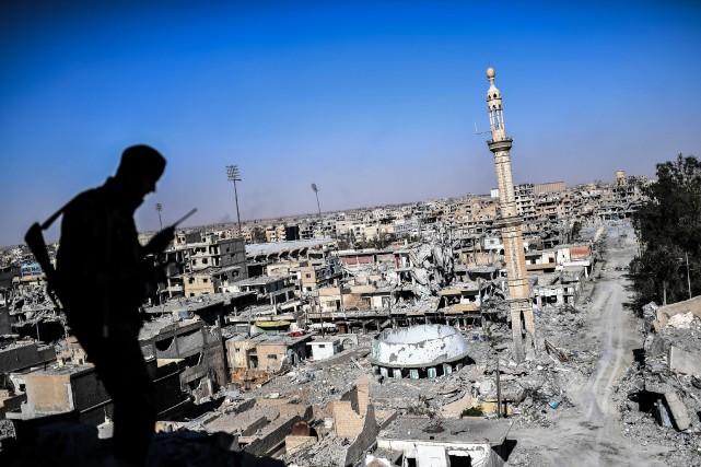 La chute de Raqqa, annoncée par un porte-parole... (AFP)